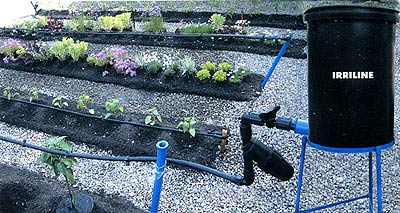 Irriline 187 Small Drip Irrigation System Dripkit